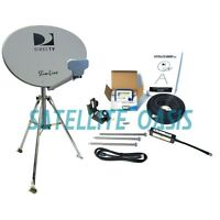 Directv Hdtv Satellite Dish Tripod Kit For Rv / Mobile