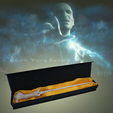 """14"""" New In Box Harry Potter LORD VOLDEMORT Magical Magic PVC Wand Replica GIFT"""
