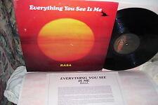 "RASA Everything You See is Me LP VG+ Vinyl ""Lyric Insert"""