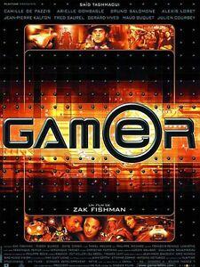 Affiche-40x60cm-GAMER-2001-Said-Taghmaoui-Camille-de-Pazzis-TBE