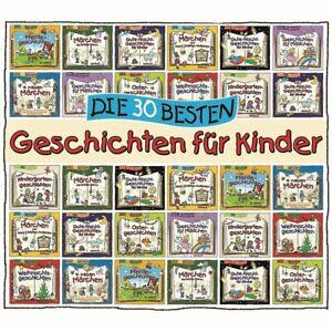 Die-30-Besten-Geschichten-Fuer-Kinder-Hoerbuch-CD-NEU-OVP