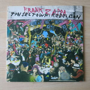 FRANK-ZAPPA-Tinseltown-Rebellion-Dutch-double-vinyl-LP-CBS-1981-Ex-M-M