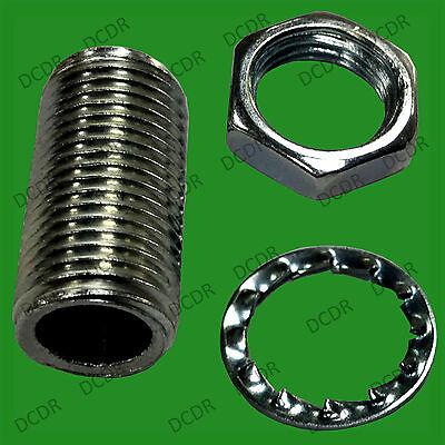 Apprensivo 100x M10 20 X 10mm Allthread Con Rondella & Dado Per Proteggere Porta Lampada Elettrica-