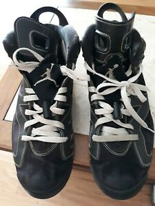 reputable site 148e5 0b9d8 Details about Nike Air Jordan Retro 6 Lakers Edition 384664-002 good  condition size 9.5