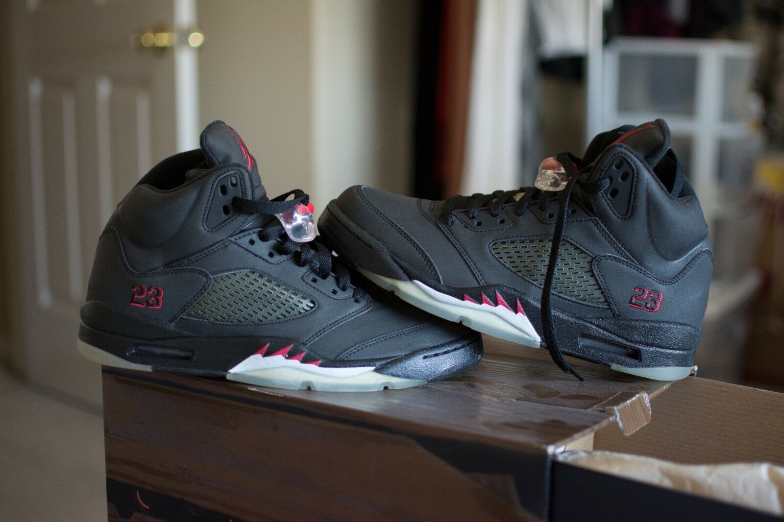 New Air Jordan 5 Retro DMP  Raging Bulls Package""
