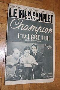 top brands sold worldwide most popular Détails sur Le film complet du samedi - N°2397 - Champion malgré lui - 1940