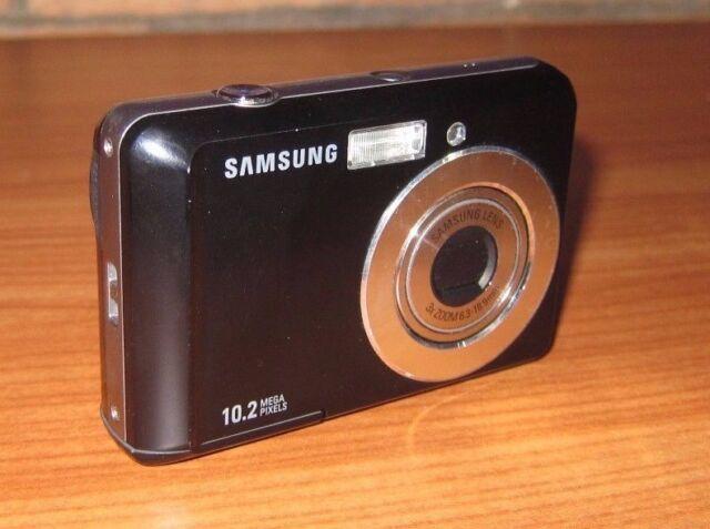 Samsung ES15 10.2 MP - Digital Camera - Black - edc