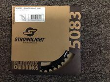 Stronglight 38T 110 BCD Black Chainring