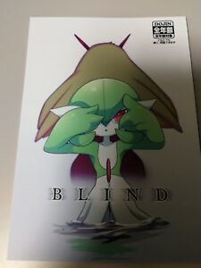 Doujinshi-POKEMON-GARDEVOIR-X-Blaziken-A5-de-28-paginas-sangria-ciego-Furry-kemono
