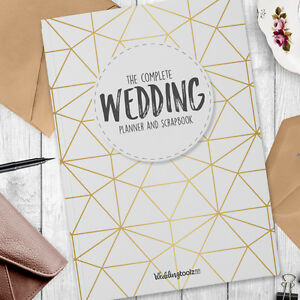 Wedding Planner Book Wedding planner and organizer gold
