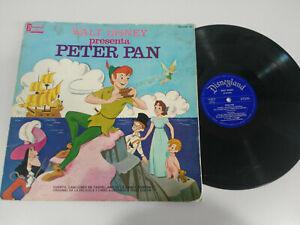 "PETER PAN WALT DISNEY Disneyland 1969 - LP vinyl 12 "" G"