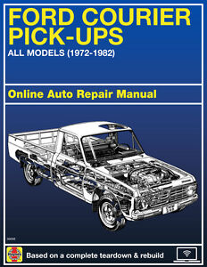 1980 Ford Courier Haynes Online Repair Manual-Select ...