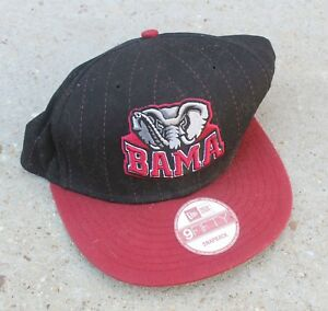 outlet store d9732 4864b Image is loading New-Era-9Fifty-Alabama-Crimson-Roll-Tide-Adjustable-