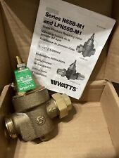 New In Box Watts 34 N55b M1 U Water Pressure Reducing Valve