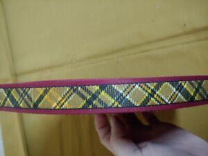 genuino stile classico meticolosi processi di tintura Dettagli su nastro per cintura tessuto elastico bretelle vintage anni 90  bobina 50 metri