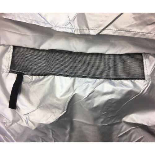 ShieldAll™ Travel Trailer Camper Cover w// Zipper Door Access Fits 30/' 32/'L