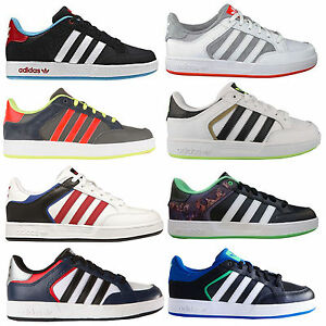 premium selection 62552 2a235 Image is loading Adidas-Originals-Varial-Low-Y-Kids-Sneakers-Skater-