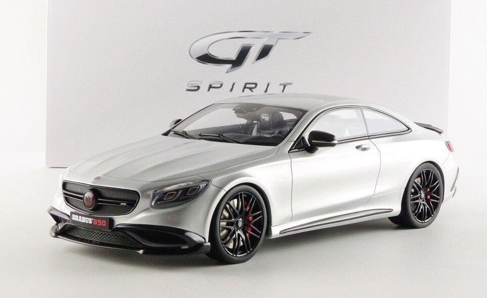 Mercedes Brabuss 850 i silver hkonsts modellllerlerl bil i 1 18 von Gt anda