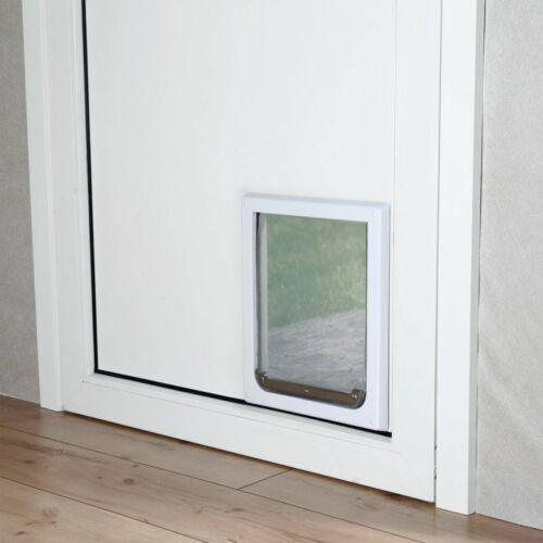 TRIXIE Porta Basculante 2 Vie Gatti e Cani Taglia S-M 30x36 cm Bianca 3878