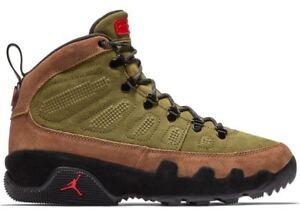san francisco 14e52 376bc Details about 2018 Nike Air Jordan Retro 9 IX Boot SZ 8-14 Beef Broccoli  Olive NRG AR4491-200