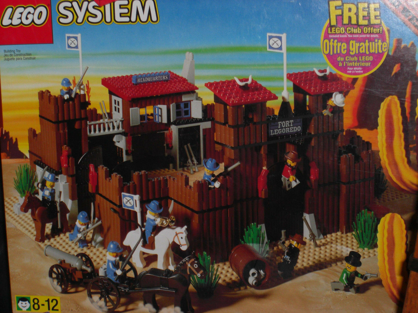 Lego System  6769 Wild West Fort Legorossoo Nuovo Sealed