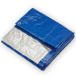 30-x-60-039-Blue-Silver-Poly-Tarp-5-Mil-Water-Resistant-Multi-Purpose-Outdoor-Cover
