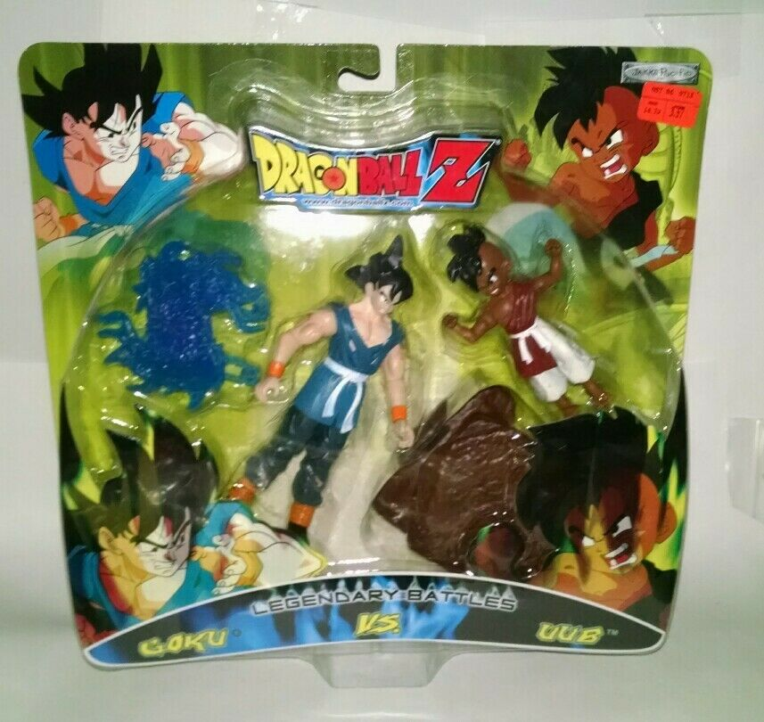 Jakks Dragon Ball Z Gt Legendary -schlachten Goku & Uub 2 Packung Actionfigur