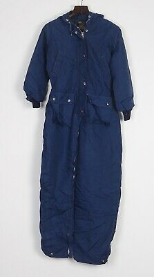Full Snow Ski Suit Jacket Trousers All In One Uk 12 Medium 80's 90's Preventing Hairs From Graying And Helpful To Retain Complexion 22f