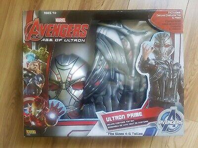 2019 Nuovo Stile Genuine Marvel Avengers Age Of Ultron Prime Costume, Gioco Di Ruolo, Costume Bambini-mostra Il Titolo Originale