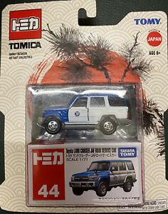 Takara-Tomy-New-Tomica-No-44-Toyota-Land-Cruiser-JAF-Road-Service-Car-BP-F-S
