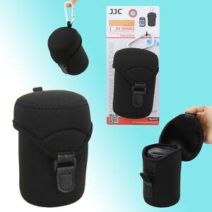 JJC JN-L Lens Case Bag Pouch Canon Sony 18-55mm FUJIFILM XC 16-50mm Universal