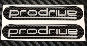 Details about Prodrive UK300 - Rear Wing Carbon Design Domed Gel Badges X 2