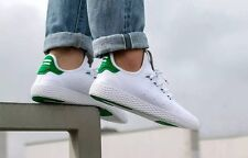 adidas pharrell williams pw tennis hu bianco verde la razza umana ba7828