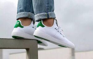 12de4183c771b ... Primeknit WhiteGreen  shop Adidas Tennis HU x Pharrell Williams  best  Image is loading Adidas-PHARRELL-WILLIAMS-Stan-Smith-8-  sneakers ...