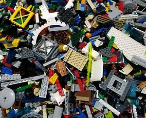 Lego-Lot-of-200-Pieces-Parts-Bricks-Random-From-Huge-Bulk-Assorted-Clean-Pieces