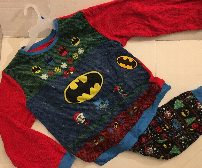 Batman Soft & Warm NWT size 3XL Christmas Pajamas Set