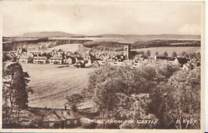 Scotland-Postcard-Doune-From-The-Castle-Stirlingshire-Ref-4512A