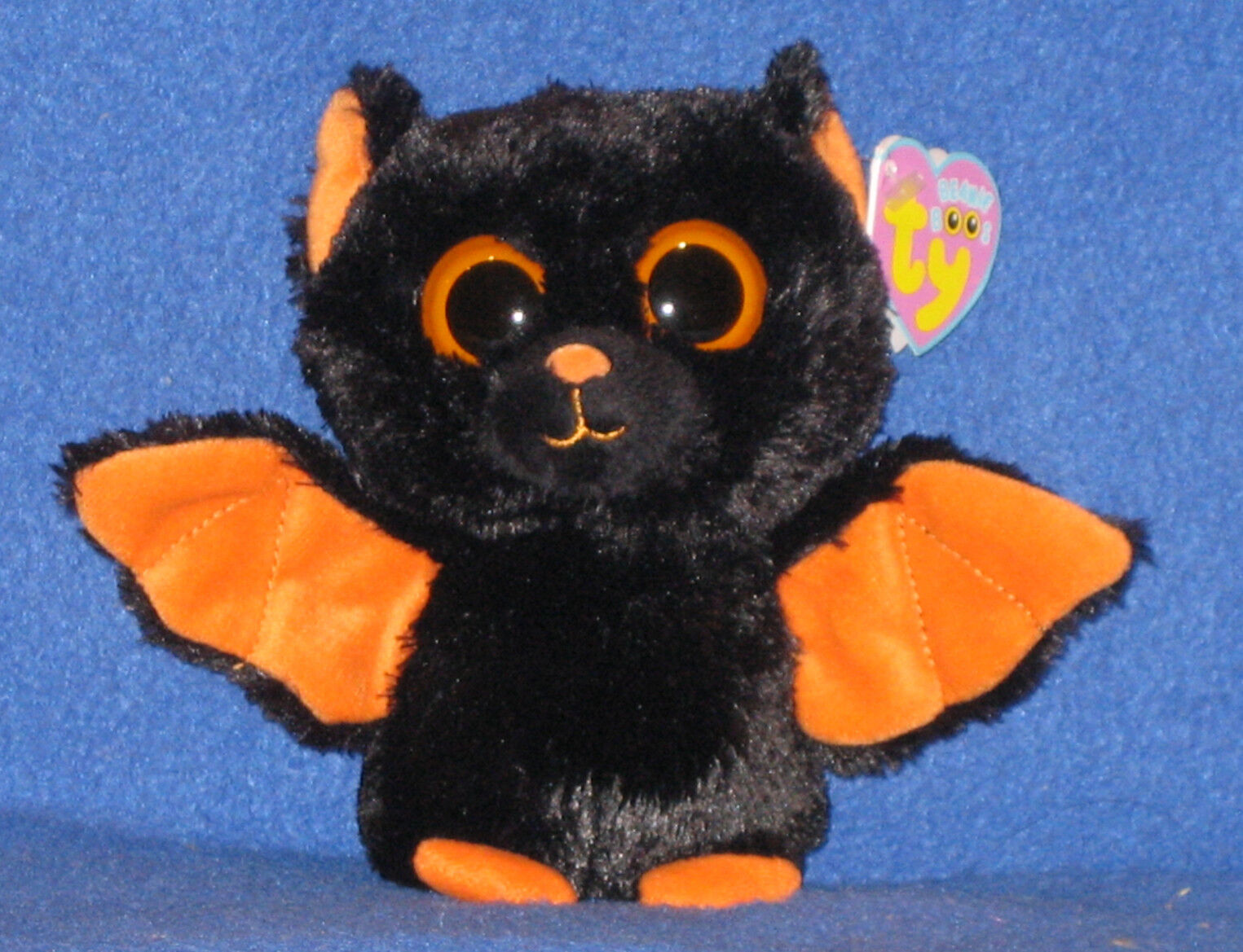 TY BEANIE BOOS - MIDNIGHT the 6  BAT - MINT with MINT TAGS