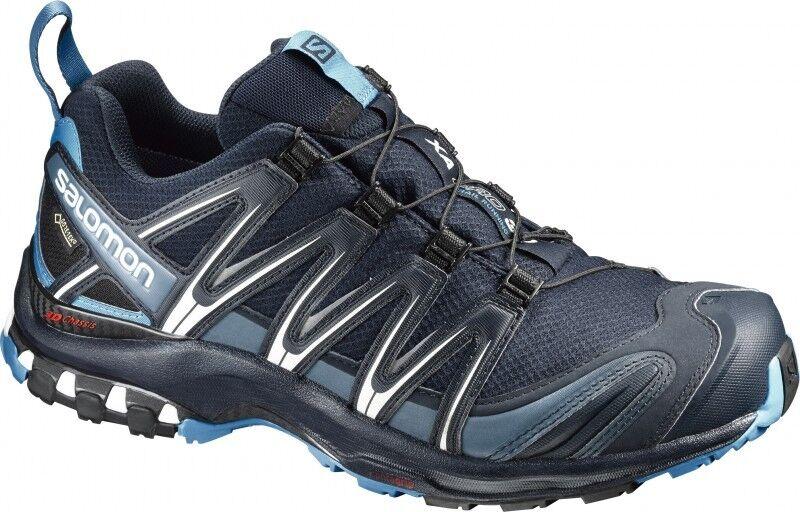 Salomon XA Pro 3d GTX ® señores trailrunning zapatos outdoorzapatos azul Nuevo
