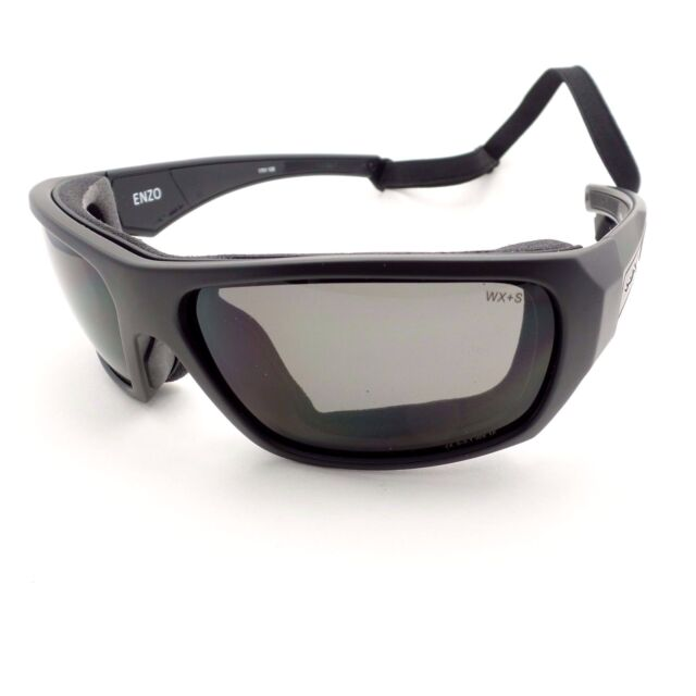 Wiley X Ace Grey Matte Black Frame Sunglasses ACACE01