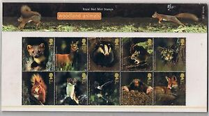 GB-Presentation-Pack-363-2004-Woodland-Animals