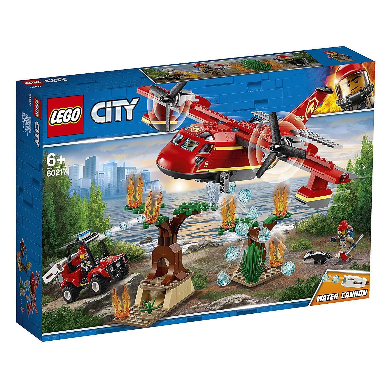 LEGO City 60217 Löschflugzeug der Feuerwehr  NEUHEIT 2019 OVP,