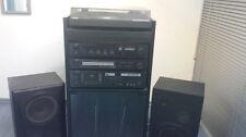YAMAHA Hifi Stereoanlage - Turm mit integriertem Schallplattenständer