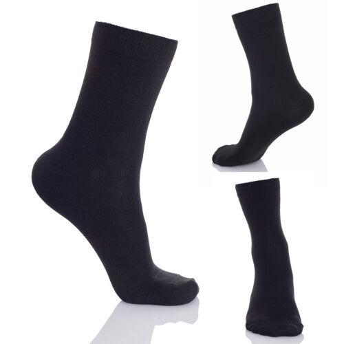 Uomini Scarpe Da Ginnastica Sport Calzini Confezione Multipla classico nero Premium Qualità 5 PAIA FS1401C