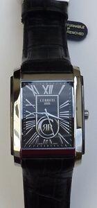 8c396c5accb Cerruti 1881 Men s Firenze Swiss Quartz Black Watch CRB011E222B NIB ...