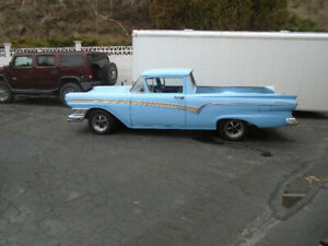 1957 ford ranchero 390-4 spd  13000 sell orTRADE