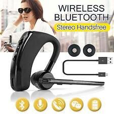 Bluetooth 4.0 Stereo Wireless Business Work Headset Earphone