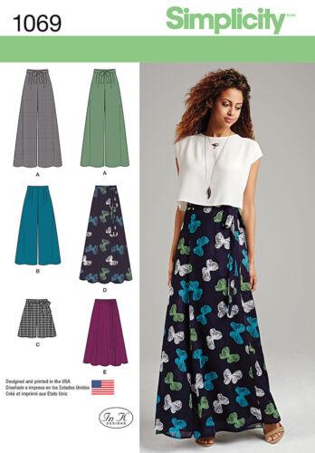 simplicity Sewing Patterns Women Skirts
