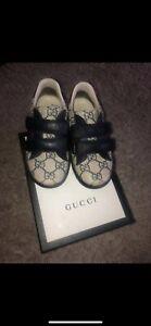 Kids Gucci Trainers Size 26   eBay