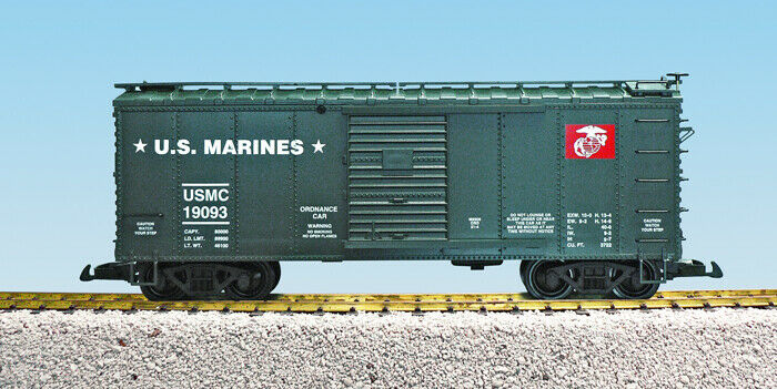 USA Trains G Escala US Military serie R19093 United States Marine Corps ordenanza-verde